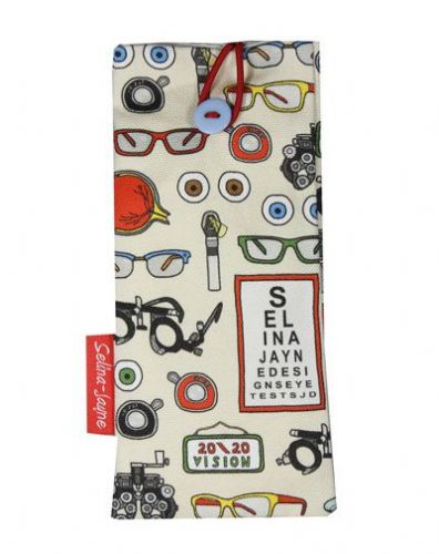 Selina-Jayne Opticians Limited Edition Designer Soft Glasses Case